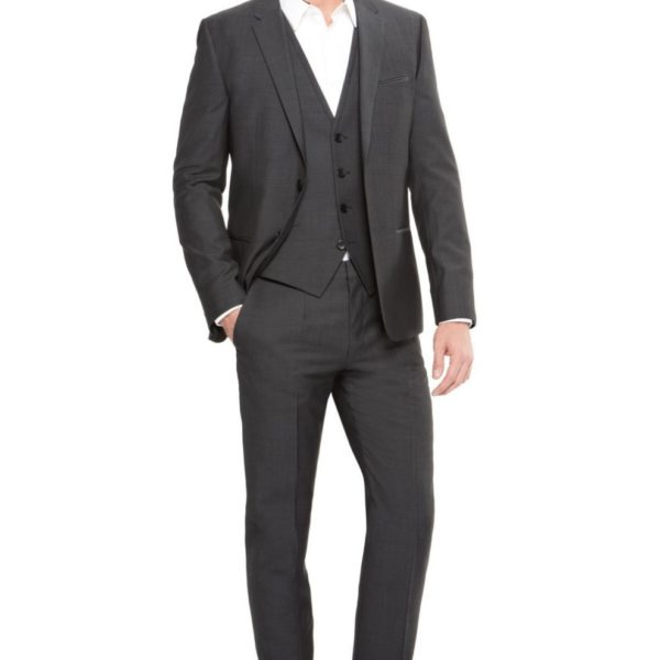 New-Arrival-Groom-Tuxedo-Groomsmen-Charcoal-Gray-Wedding-Dinner-Evening-Suits-Best-Man-Bridegroom-Jacket-Pants